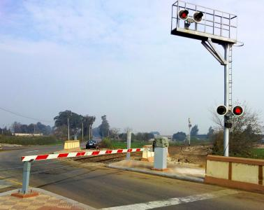 Modernization of 35 level crossings in Egypt