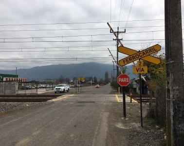 ENYSE Chile has installed two new safety SIL-4 train level crossings in the VII Region (Chile)
